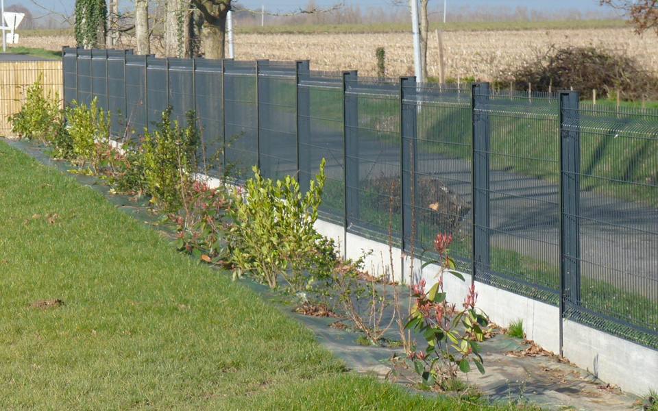 Barriere jardin metal largeur portillon exterieur | Menuisier ...